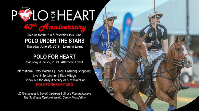 POLO FOR HEART 40th ANNIVERSARY